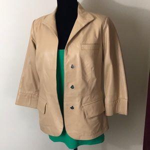 Spiegel Lamb Leather Jacket
